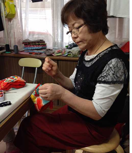 COURTESY PHOTO: SANDY GARCIA - Six women from Nyuzen, Japan will visit Forest Grove to teach sewing with kimono pieces.