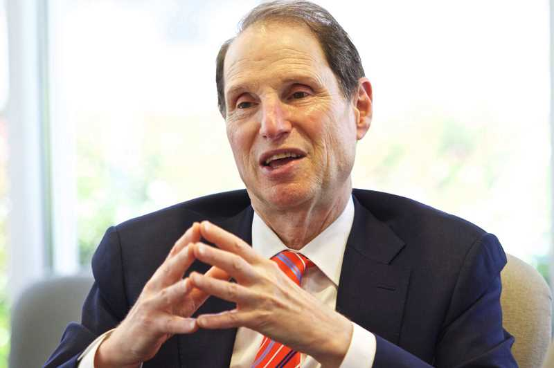 Ron Wyden, a Democrat, is the senior 