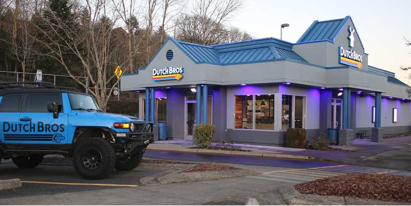 PMG PHOTO: J. BRIAN MONIHAN - Dutch Bros is nearly open for business