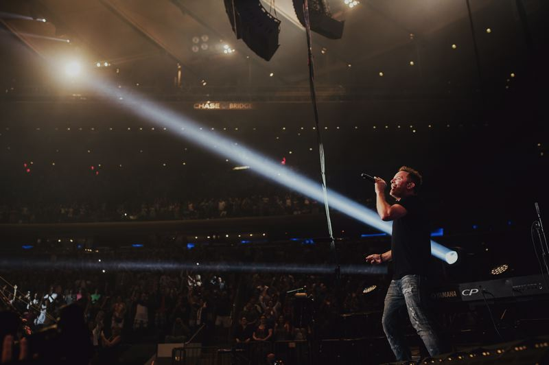 COURTESY PHOTO - Christian music star Chris Tomlin performs at the Moda Center, March 10.