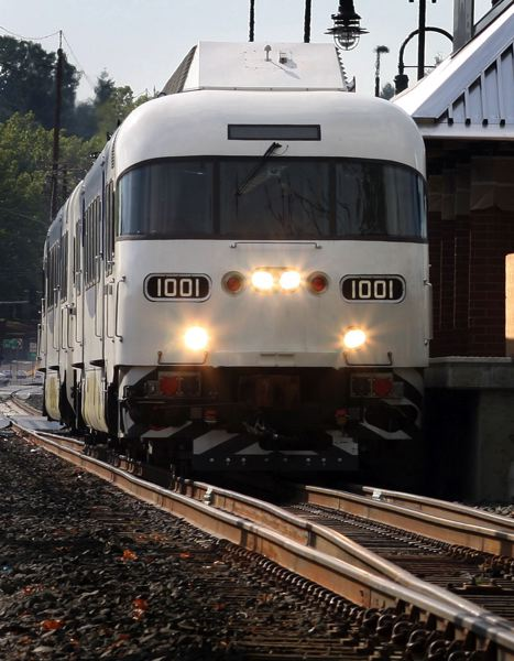 PMG FILE PHOTO - TriMet's WES Commuter rail train has operated for 10 years.