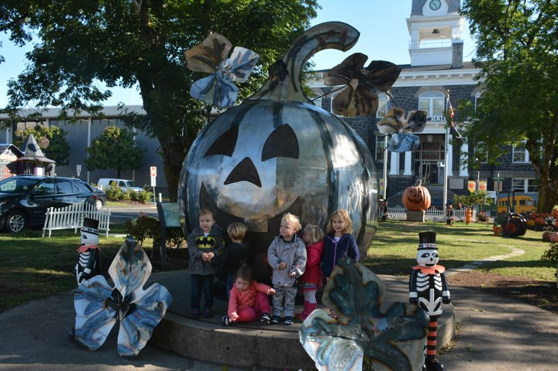PMG FILE PHOTO - The St. Helens City Council renewed its contract with E2C Corp. to have its principal contractor, Tina Curry,  continue to plan city events, including the popular month-long Spirit of Halloweentown in October.