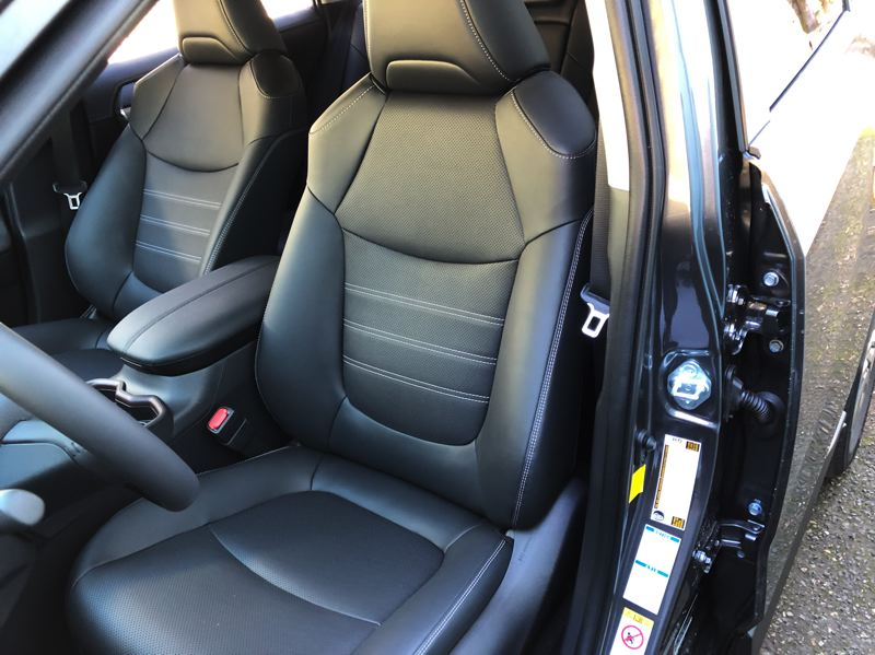 PORTLAND TRIBUNE: JEFF ZURSCHMEIDE - Front seats are comfortable and supportive, with full leather an option.