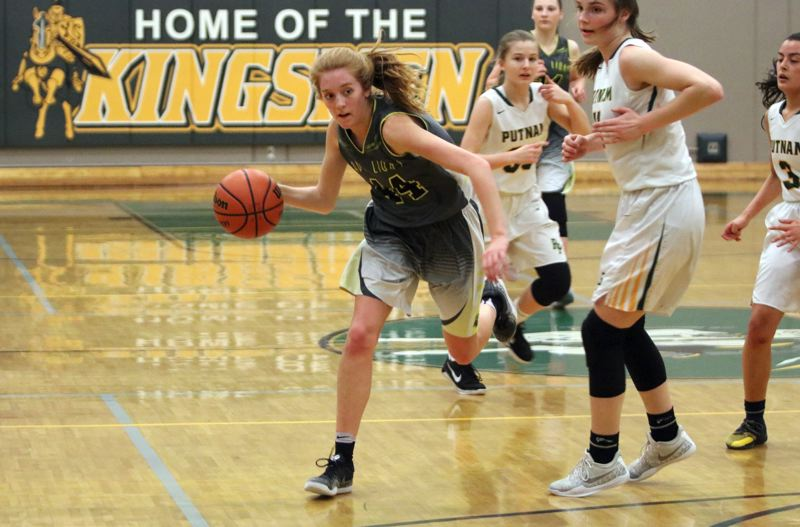 PAMPLIN MEDIA GROUP: JIM BESEDA - Junior Maddie Holm of St. Helens has been chosen to the all-Northwest Oregon Conference first team.