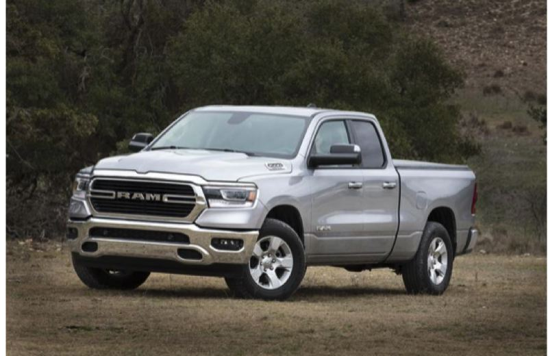 FCA NORTH AMERICA - The all-new 2019 Ram 1500 can be ordered in many version with different body, engine and drivetrain combinations, such as the Big Horn model shown here.