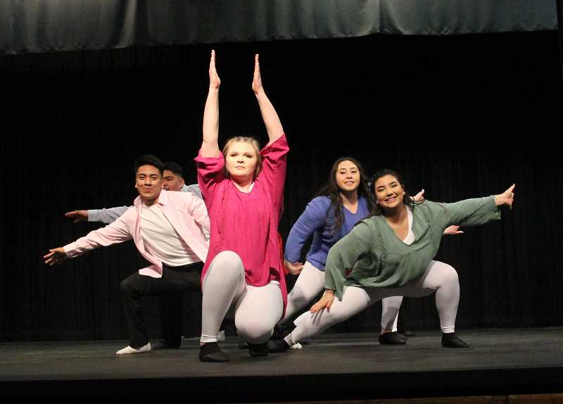PMG PHOTO: JUSTIN MUCH - Teamwork was an emphasis of the 2019 Mr. and Miss Gervais Pageant, Saturday, March 9.