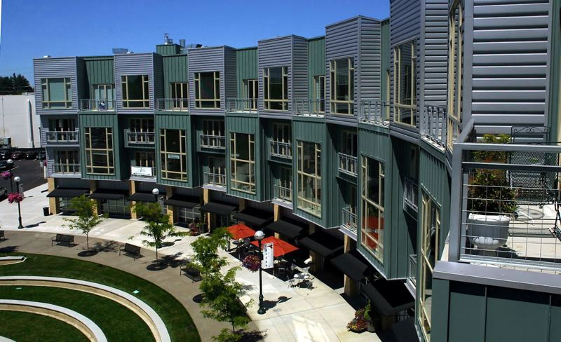 PAMPLIN MEDIA GROUP: FILE - The Round, at the Beaverton Central light-rail platform, is near The Rise Central, two large apartment complexes with ground-floor retail that are currently under construction.