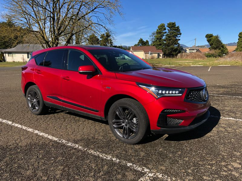 PORTLAND TRIBUNE: JEFF ZURSCHMEIDE - The 2019 Acura RDX has been completely redesigned and restyled for 2019, and the results are stunning.