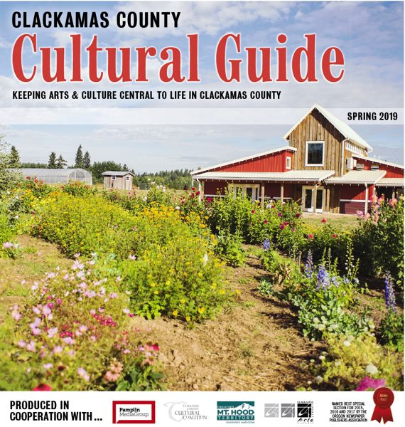 (Image is Clickable Link) Clackamas County Cultural Guide - Spring 2019
