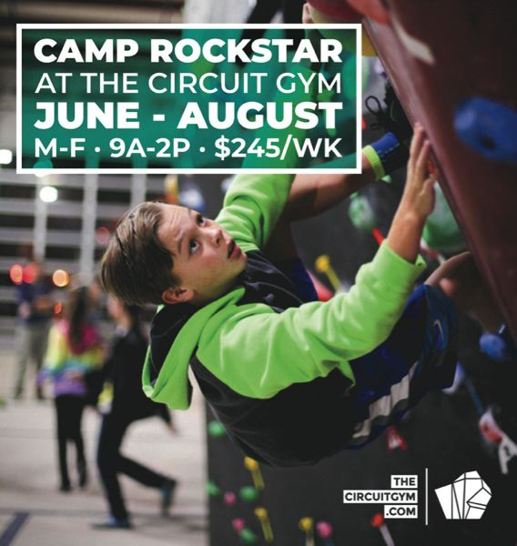 (Image is Clickable Link) Camp Rockstar at the Circuit Gym