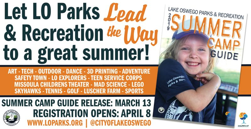 (Image is Clickable Link) Lake Oswego Parks and Rec Camps