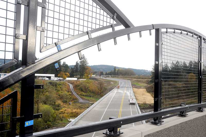 GRAPHIC FILE PHOTO - The first phase of the Newberg-Dundee bypass opened in December 2018.
