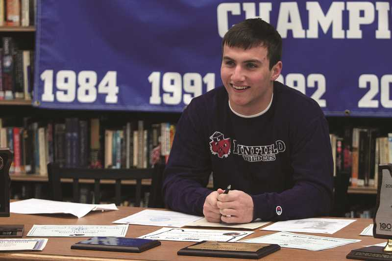 PMG PHOTO: PHIL HAWKINS - After putting up more than 3,000 total yards and 50-plus touchdowns over the past two seasons for the St. Paul football team, running back Justin Herberger will join one of the signature Division III football programs in the nation next fall.