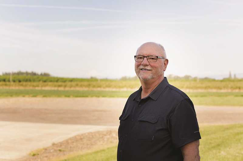 COURTESY: KARLI RIZZO PUBLIC RELATIONS - Verne Gingerich is the fourth generation to lead Gingerich Farms in Canby, which began in 1919 and has been growing blueberries for nearly 40 years.