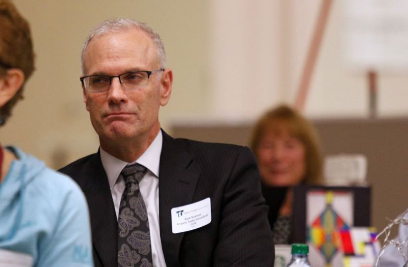 PMG FILE PHOTO  - Rob Saxton, a consultant and former head of the Oregon Department of Education, evaluated the Corbett School District and recommended some big changes.