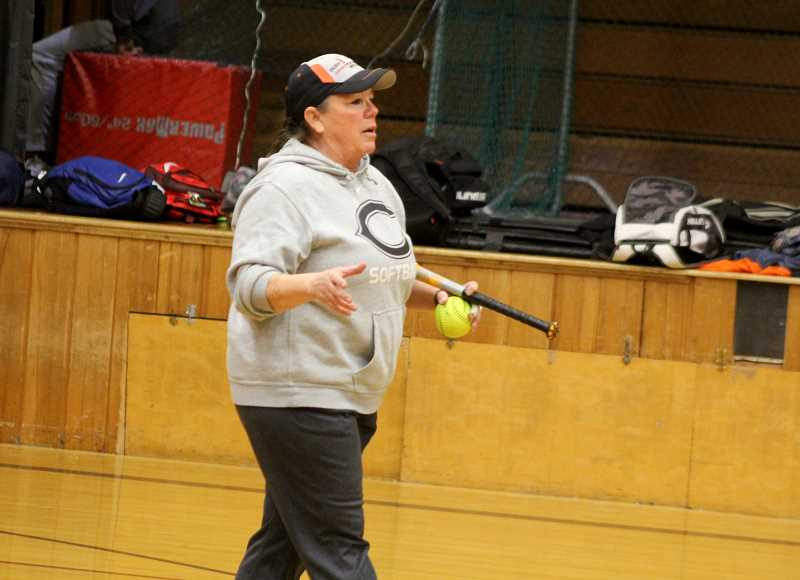 STEELE HAUGEN - Co-head coach Shelly Brown will be one of the two head coaches for the Lady Dawgs softball team.