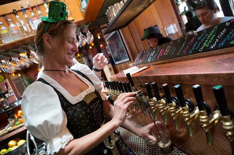 COURTESY PHOTO: MCMENAMINS  - McMenamins will have a special menu for St. Patricks Day, including Irish Stout, Irish coffee, Irish Reuben and corned beef and cabbage