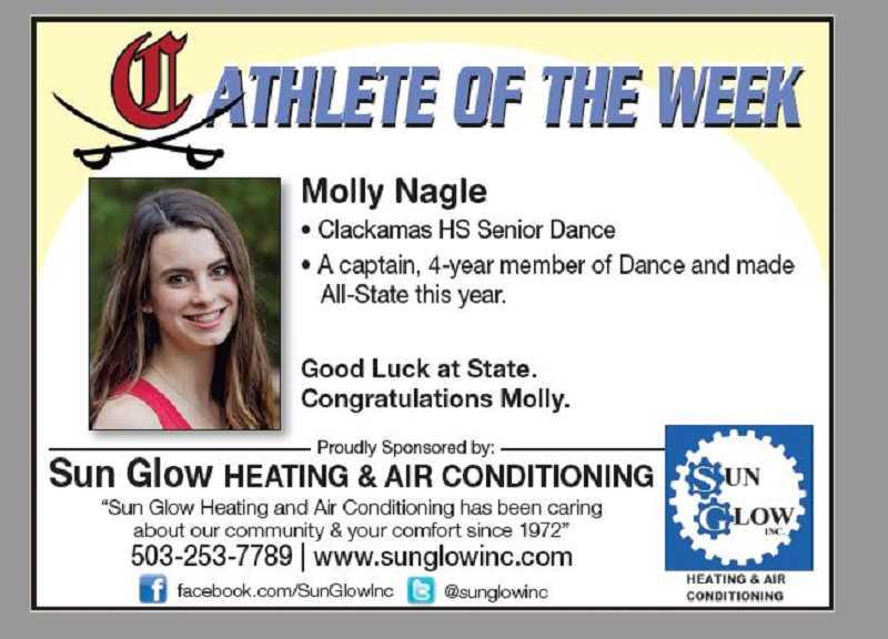 (Image is Clickable Link) Athlete of the Week Clackamas HS 03.13