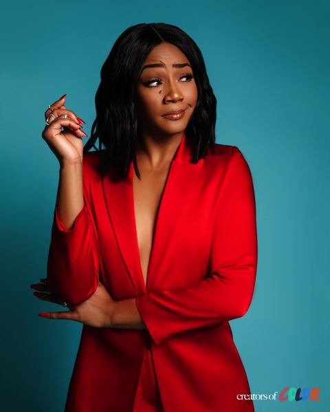 COURTESY: ELTON ANDERSON JR. - Tiffany Haddish brings her energetic brand of comedy to the Keller Auditorium stage, March 16.