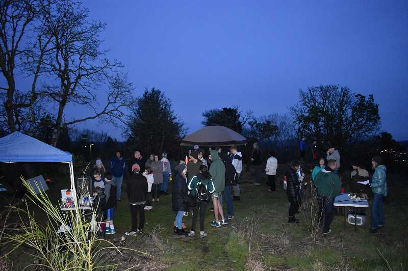 SUBMITTED PHOTO  - Join the Beaver Ambassadors and West Linn Parks & Rec March 20 for a Full Moon over West Linn environmental outreach program. Its free and open to all.
