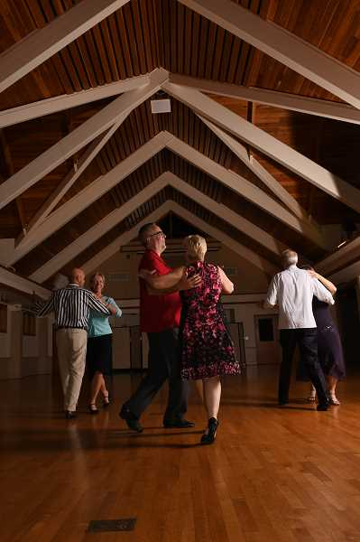SUBMITTED PHOTO - Ballroom dancing is taught through Lake Oswego Parks and Recreation for both beginners and intermediate dancers.