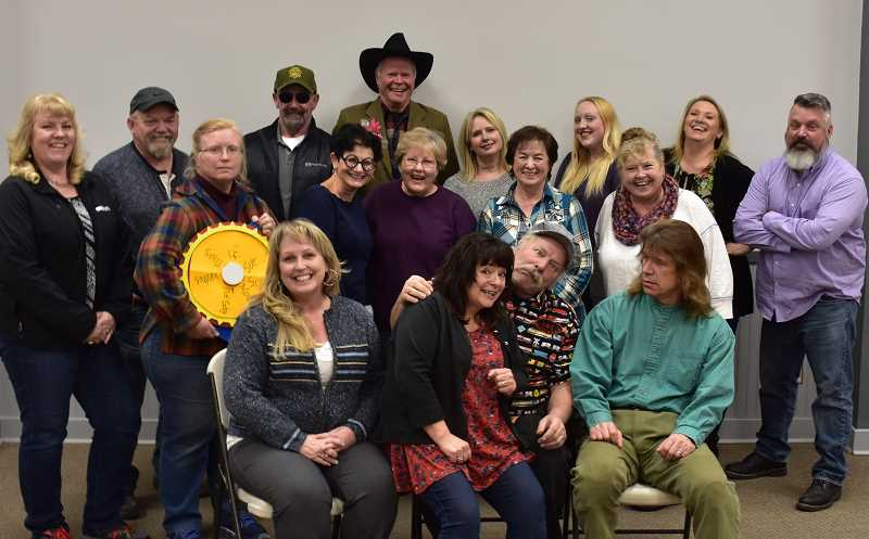SUBMITTED PHOTO - The High Desert Community Theater Guild is ready to present the three-act farce, 'Medium Rare,' from Thursday through Sunday, March 21-24.