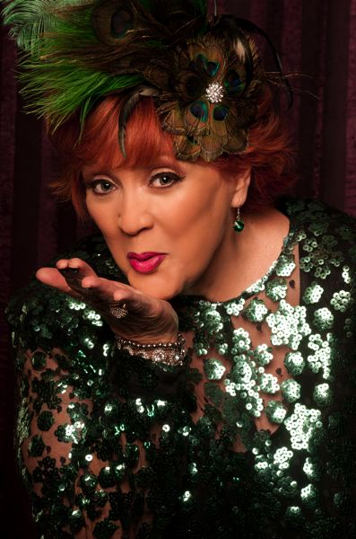 COURTESY PHOTO - Lulu Roman, pictured currently and during the 'Hee Haw' heyday (below), will be part of the show's 50th anniversary touring stage show in The Dalles.