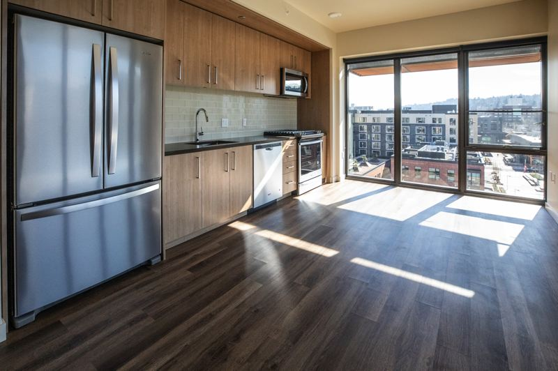 PAMPLIN MEDIA GROUP: JONATHAN HOUSE - An apartment ready to rent in the Carson. Amenities include Amazon Echo speakers.