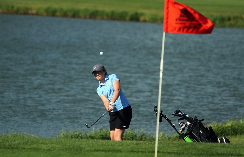PMG PHOTO: MILES VANCE - Lakeridge sophomore Maddie Baker qualified for regionals and state last year and is hoping for more good things this spring.