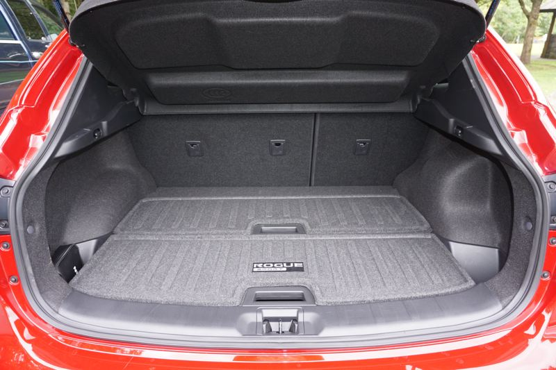 PORTLAND TRIBUNE: JEFF ZURSCHMEIDE - Cargo space in the 2019 Nissan Rogue Sport is good for a subcompact crossover.