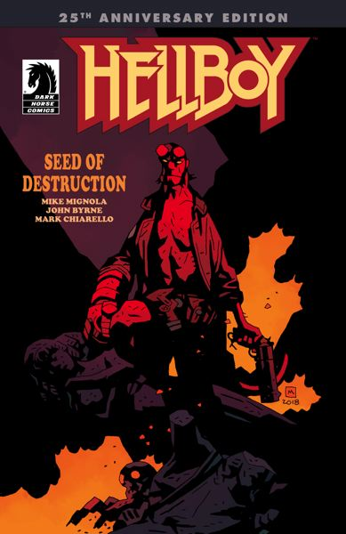 COURTESY PHOTO - Made famous through Milwaukie's Dark Horse Comics, the 'Hellboy' character turns 25 years old.