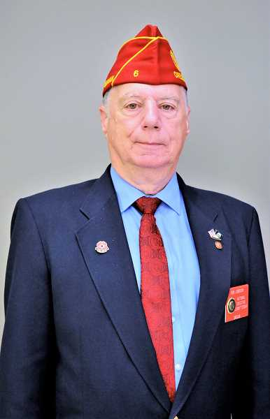 COURTESY PHOTO - Rob Liebenow has been a member of the American Legion since 1972.