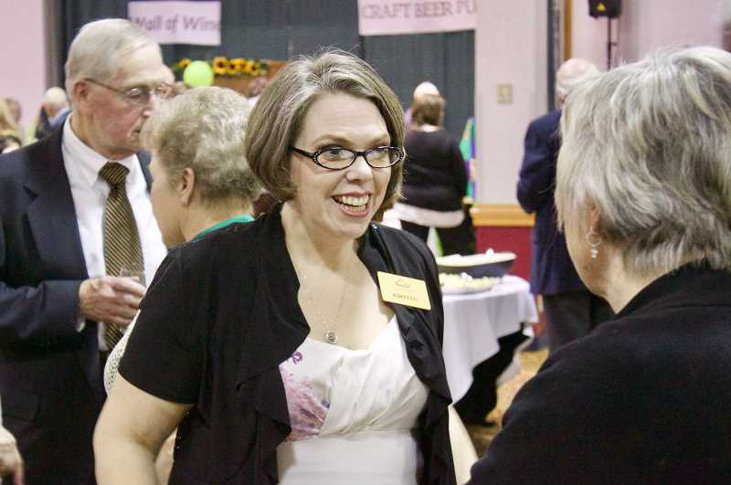 PMG PHOTO: CHRISTOPHER KEIZUR - Kirsten Wageman, executive director of SnowCap, during the Saturday, March 16, event.