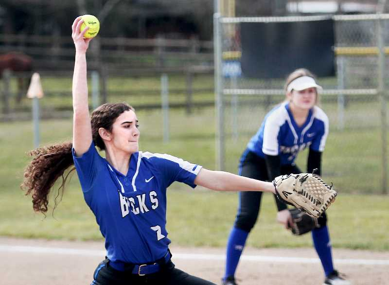 PHIL HAWKINS -- WOODBURN INDEPENDENT - With the exception of a 21-0 loss to Western Mennonite/Salem Academy, St. Paul softball is off to a hot start this season.