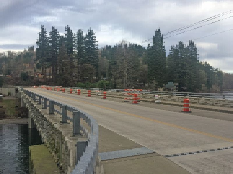 PMG FILE PHOTO: EMILY LINDSTRAND - Work on the Carver Bridge has been beset by a series of delays, but Clackamas County officials expect construction to be completed by this May.