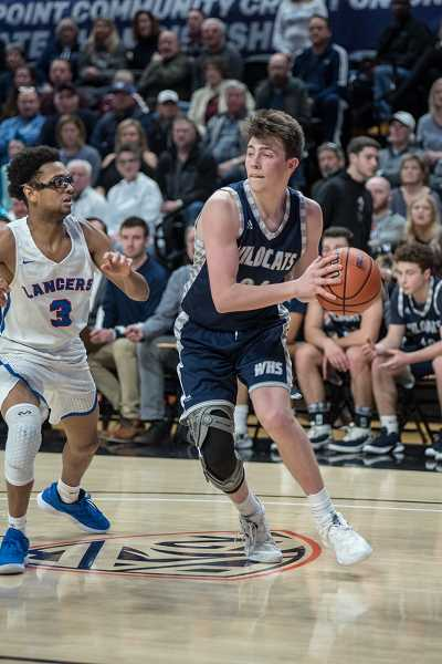 COURTESY PHOTO: GREG ARTMAN - Wilsonville junior Keegan Shivers is one of the new faces to establish themselves for the Wildcats.