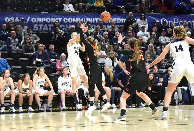 PMG FILE PHOTO: TANNER RUSS - Junior Renee Lee came into her own as the season progressed, becoming a threat from beyond the arc.
