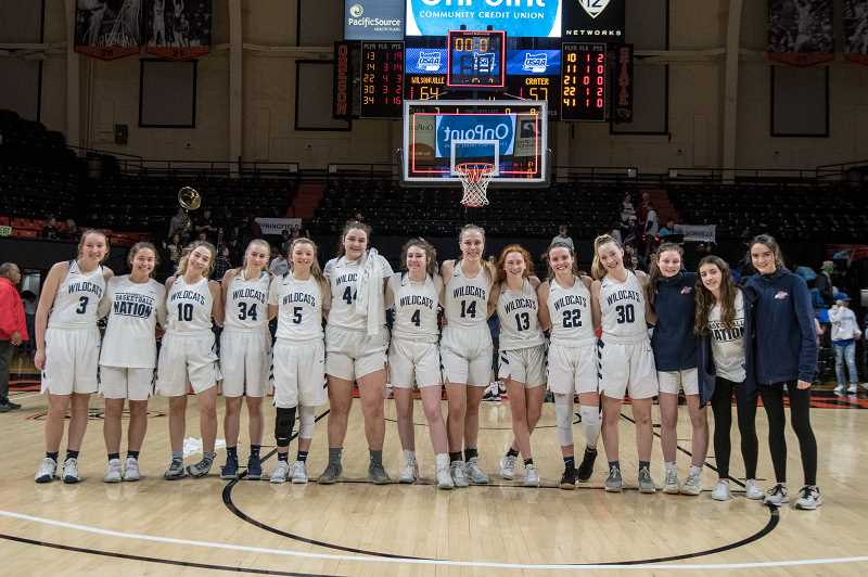 COURTESY PHOTO: GREG ARTMAN - The girls basketball team took third place with a victory over Crater.