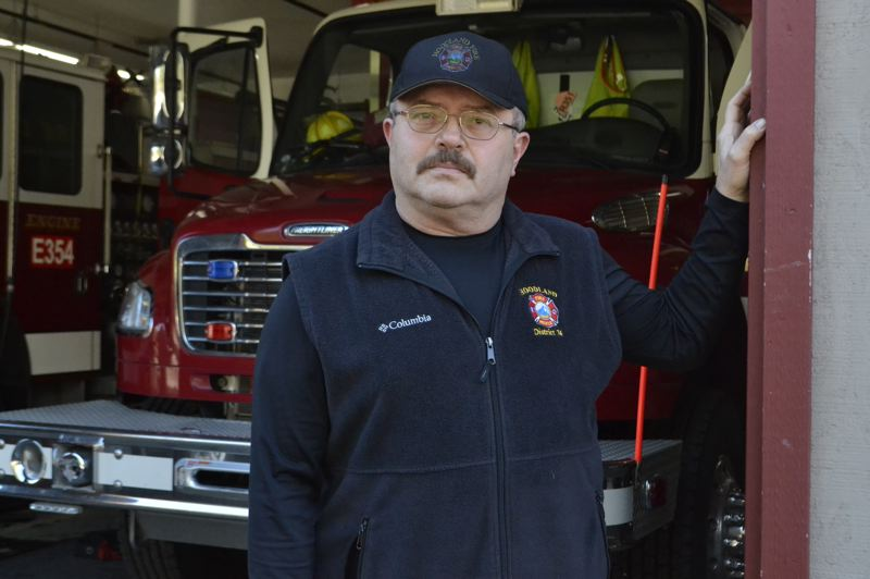POST PHOTO: BRITTANY ALLEN - Chief John Ingrao has served at Hoodland Fire Department for eight years.