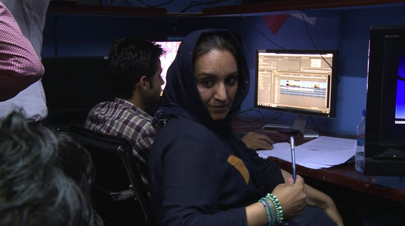 COURTESY PHOTO - Shakila is an Afghan journalist in 'Facing the Dragon' documentary.