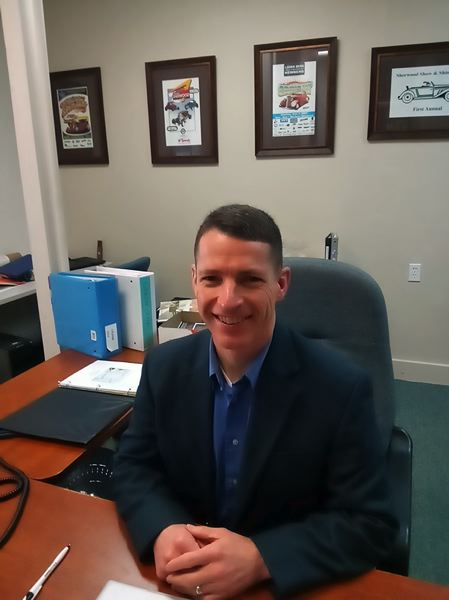 PMG PHOTO: SCOTT KEITH - Corey Kearsle has taken the helm of the Sherwood Area Chamber of Commerce.