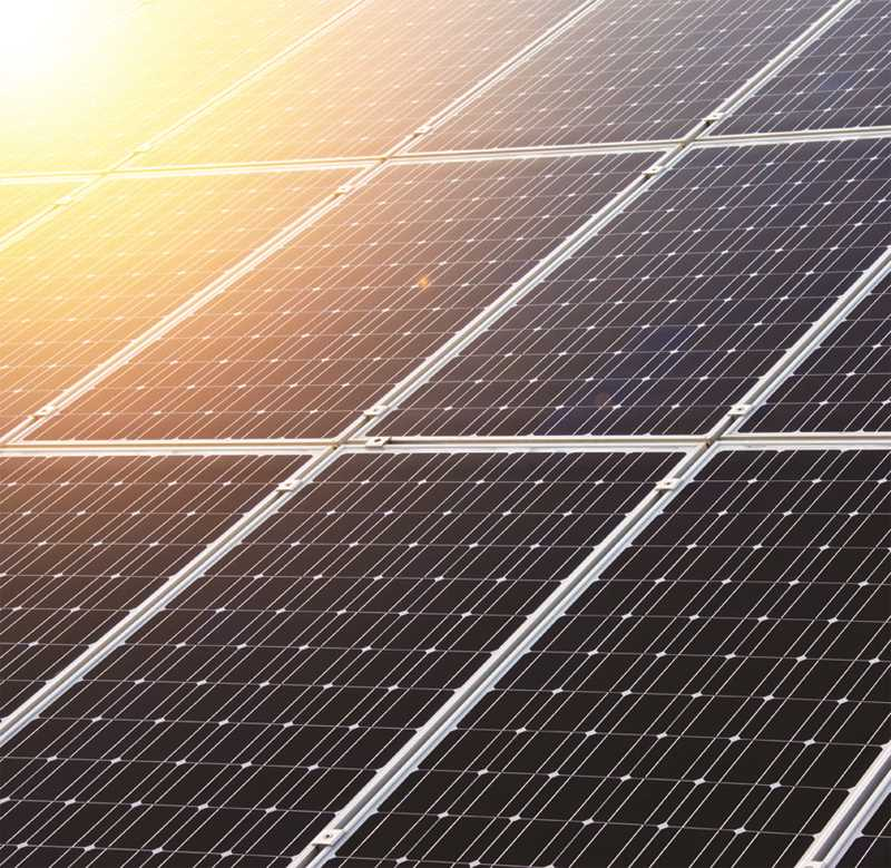 INTERNET PHOTO - Interest in solar power development continues in Crook County.