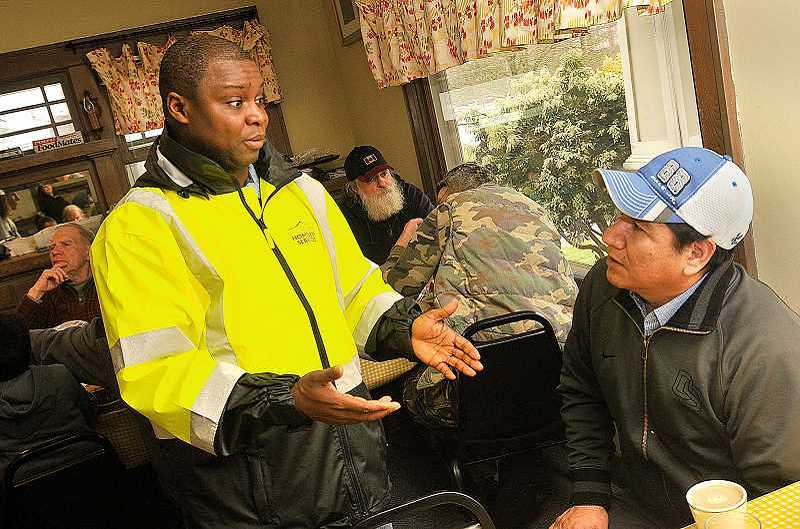 PMG FILE PHOTO - Gresham has made strides in providing ways out of homelessness, thanks in part to the efforts of Aaron Sando, the citys homeless S=services specialist.