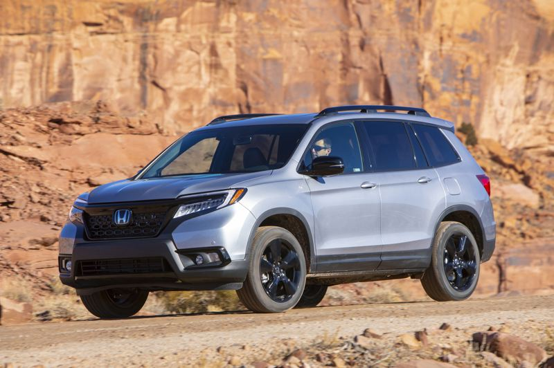 HONDA NORTH AMERICA - The all-new 2019 Honda Passport is designed to be at home both on and off-road, and can be ordered with all-wheel-drive and four drive modes for different conditions.