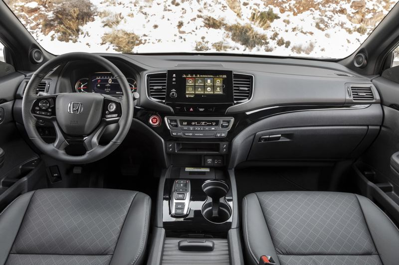HONDA NORTH AMERICA - Like all Hondas, the interior of the 2019 Passport is well designed, lined with high quality materials, and can be ordered with practically every available automotive technology.