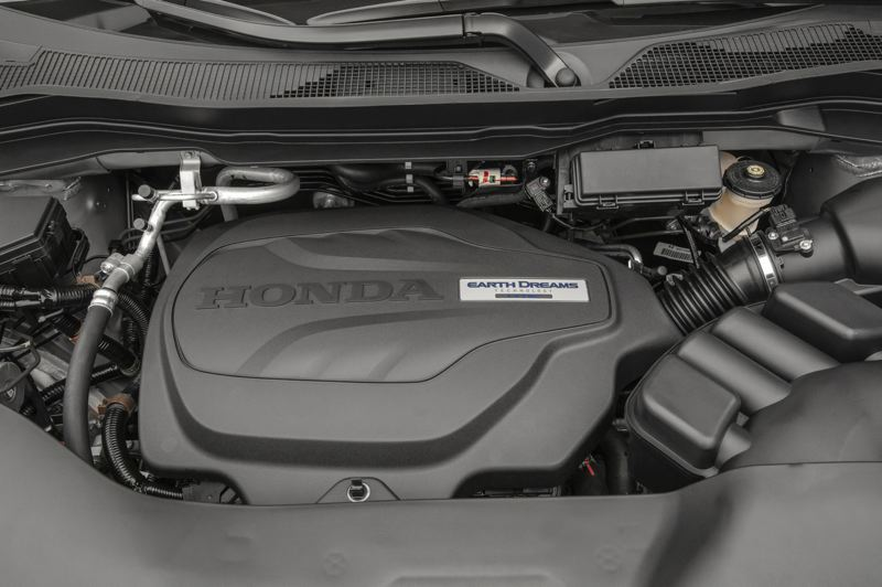 HONDA NORTH AMERICA - All versions of the 2019 Passport are powered by the reliable 3.5-liter V6, which provides plenty of power.