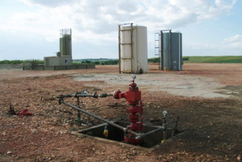 WIKIPEDIA PHOTO - A fracking well in Oklahoma is shown here.