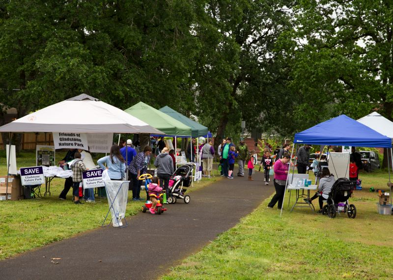 COURTESY PHOTO - Last year's native plant sale was a big draw at the annual Arbor Day celebration in Gladstone.