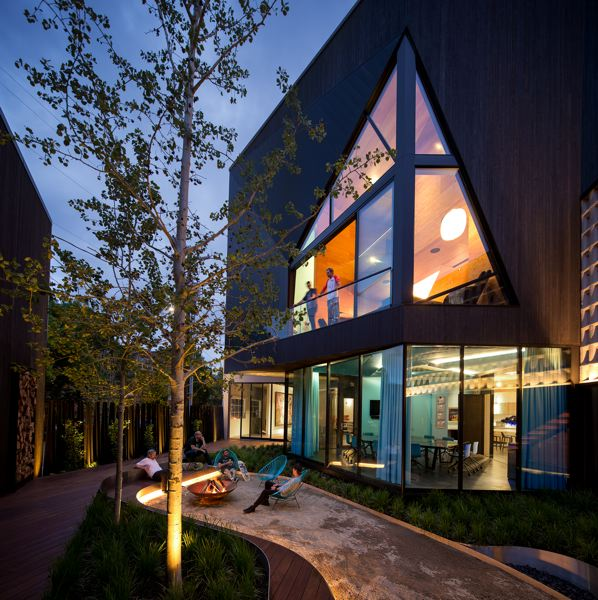 COURTESY: 2.INK STUDIO - 2.ink Studio won an Honor award from the Oregon chapter of the American Society of Landscape Architects for the firms work on SinBin, private residence in Portland that includes an artists retreat, a skate bowl, a recording studio and a playground.