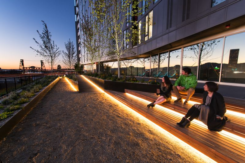 COURTESY: 2.INK STUDIO - 2.ink Studios work on Yard, a mixed-use building at the east end of the Burnside Bridge in Portland, garnered one of several awards the firm has won since it was formed in 2006 by Melinda Graham and Jonathan Beaver.